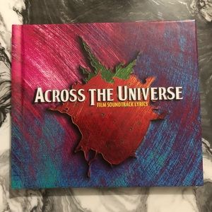 🔮 5/$25 Across The Universe Lyric Book